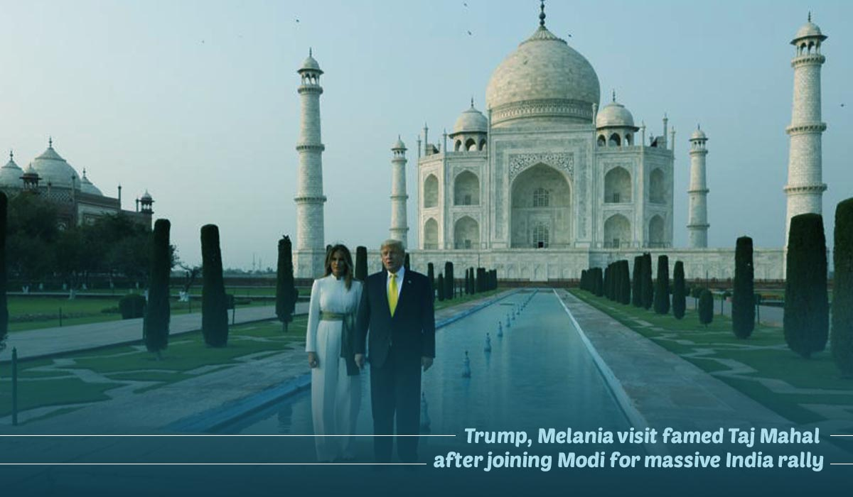 Trump's First Official Visit To India As A United States President