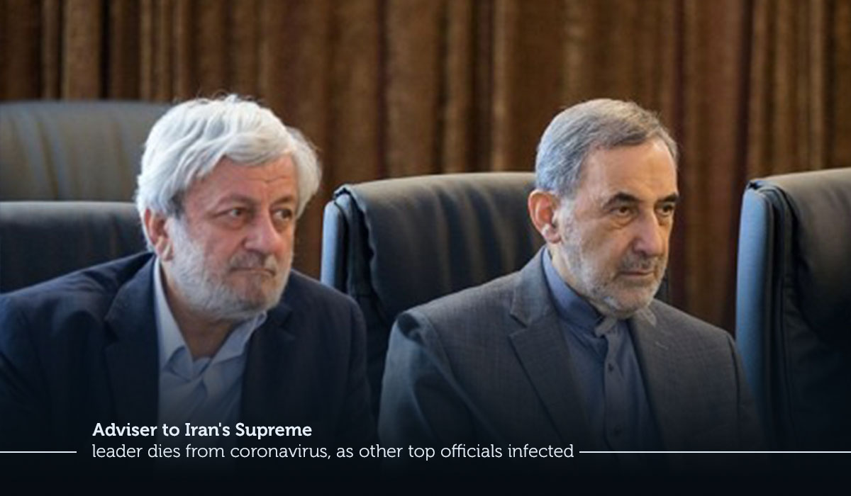 Advisor to Iran's top leader dies due to coronavirus, as other supreme officials infected