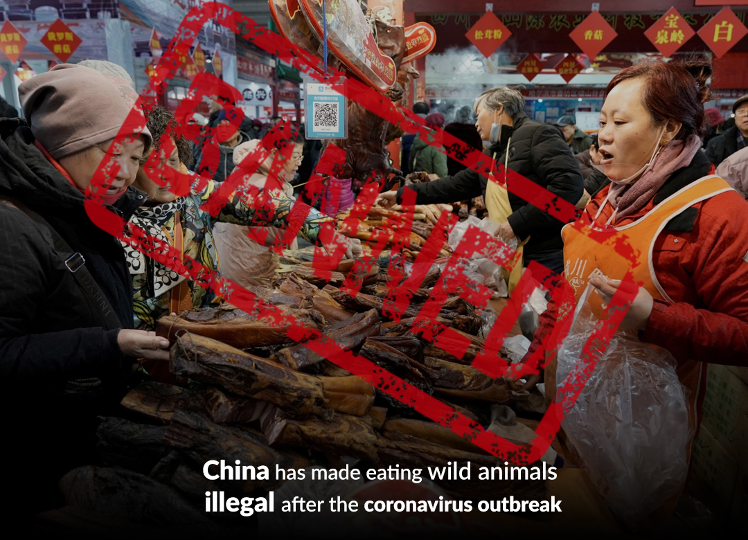 China has banned eating wild animals amid coronavirus outbreak but ending the market would be a big challenge