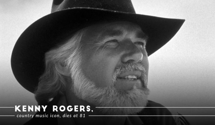 Country Music Star, Kenny Rogers passed away at 81 with natural death