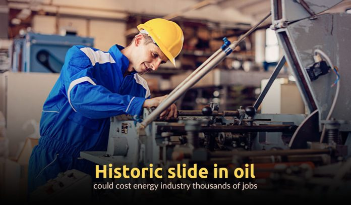 Thousands of jobs may be affected due to historic fall in oil Prices
