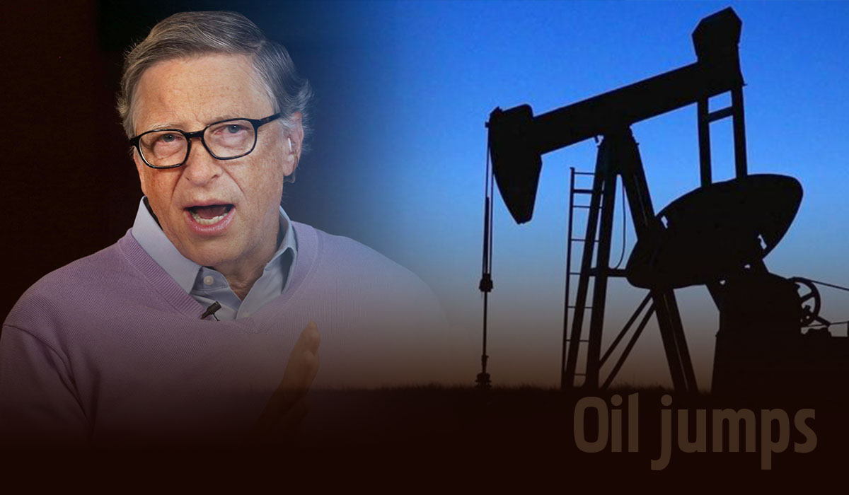 Oil dives more than 2% as the US increased economic support measures