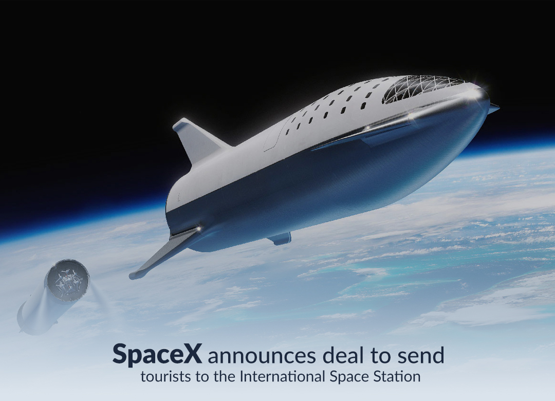 SpaceX declares deal to refer tourists to ISS (International Space Station)
