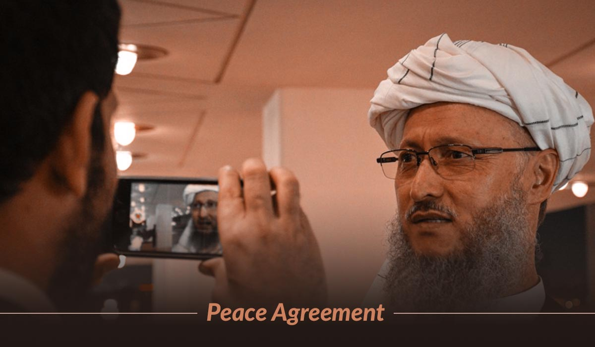 Historic Agreement Signed By Us And Taliban