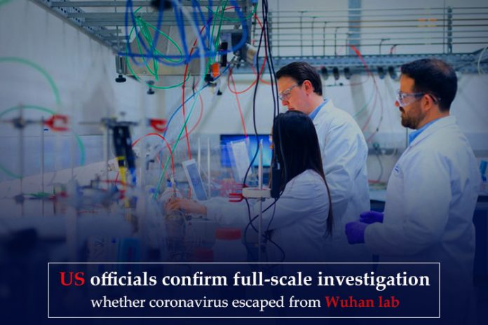 U.S. official inspecting whether Coronavirus emerged from Wuhan lab