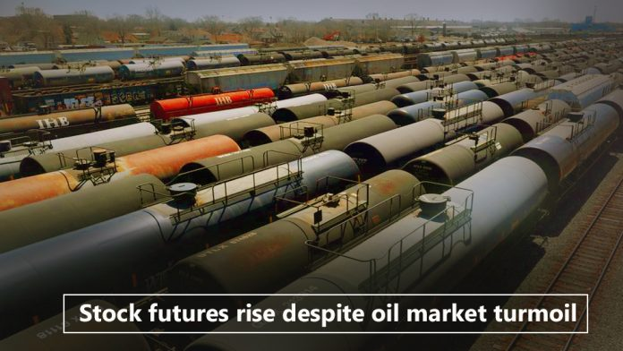 Stock futures rise despite oil market facing trouble