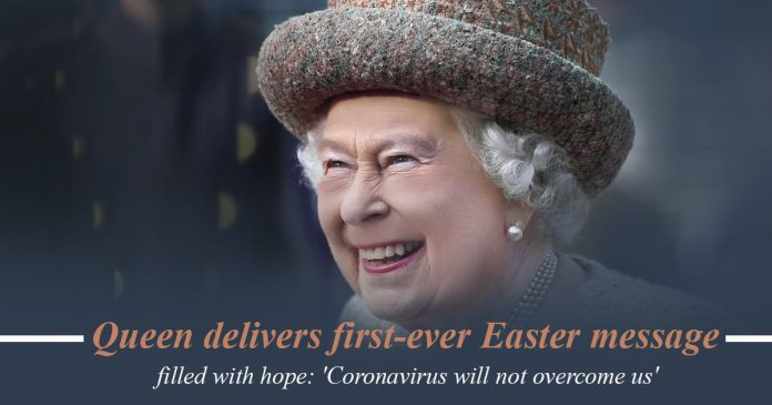 Queen Elizabeth delivers first-ever Easter recording filled with hope