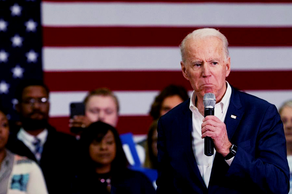Sexual assault adamantlyrejected by Biden's compaign