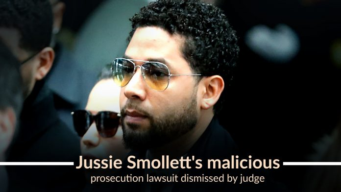 Judge rejected Jussie Smollett's malicious Prosecution lawsuit