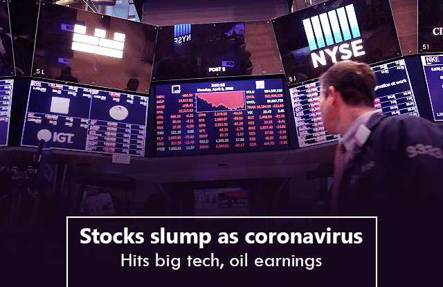 Global stocks collapse as COVID-19 smashes big tech, oil earnings