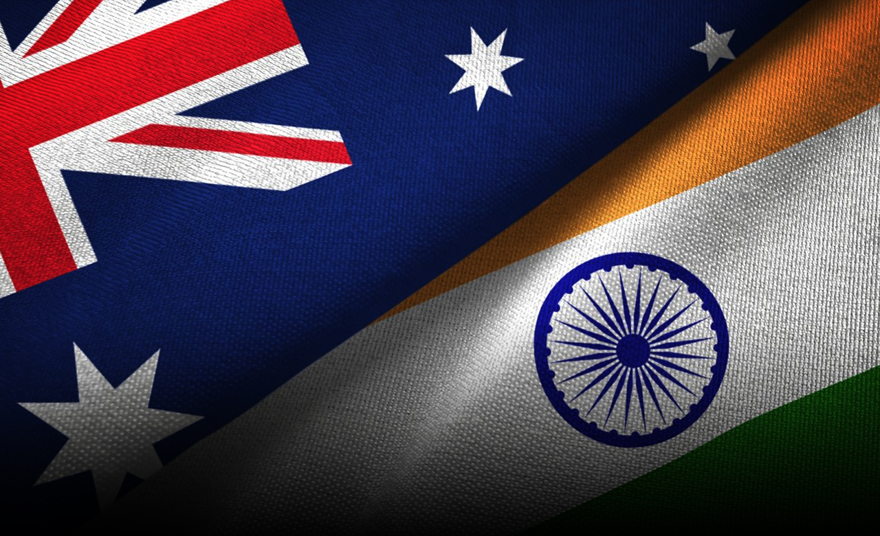Australia and India sign agreements to back military ties as strains simmer in the South China Sea