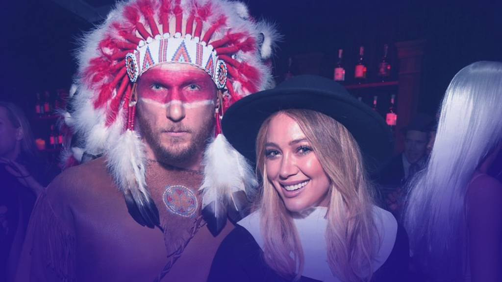 Hilary Duff enjoys holiday partying with her husband and her daughter