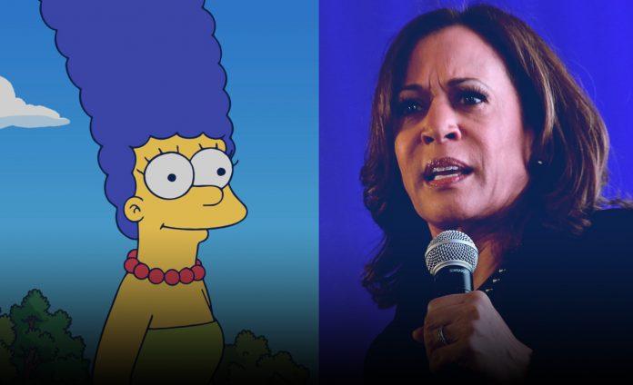 Marge Simpson's answers to Kamala Harris camparison