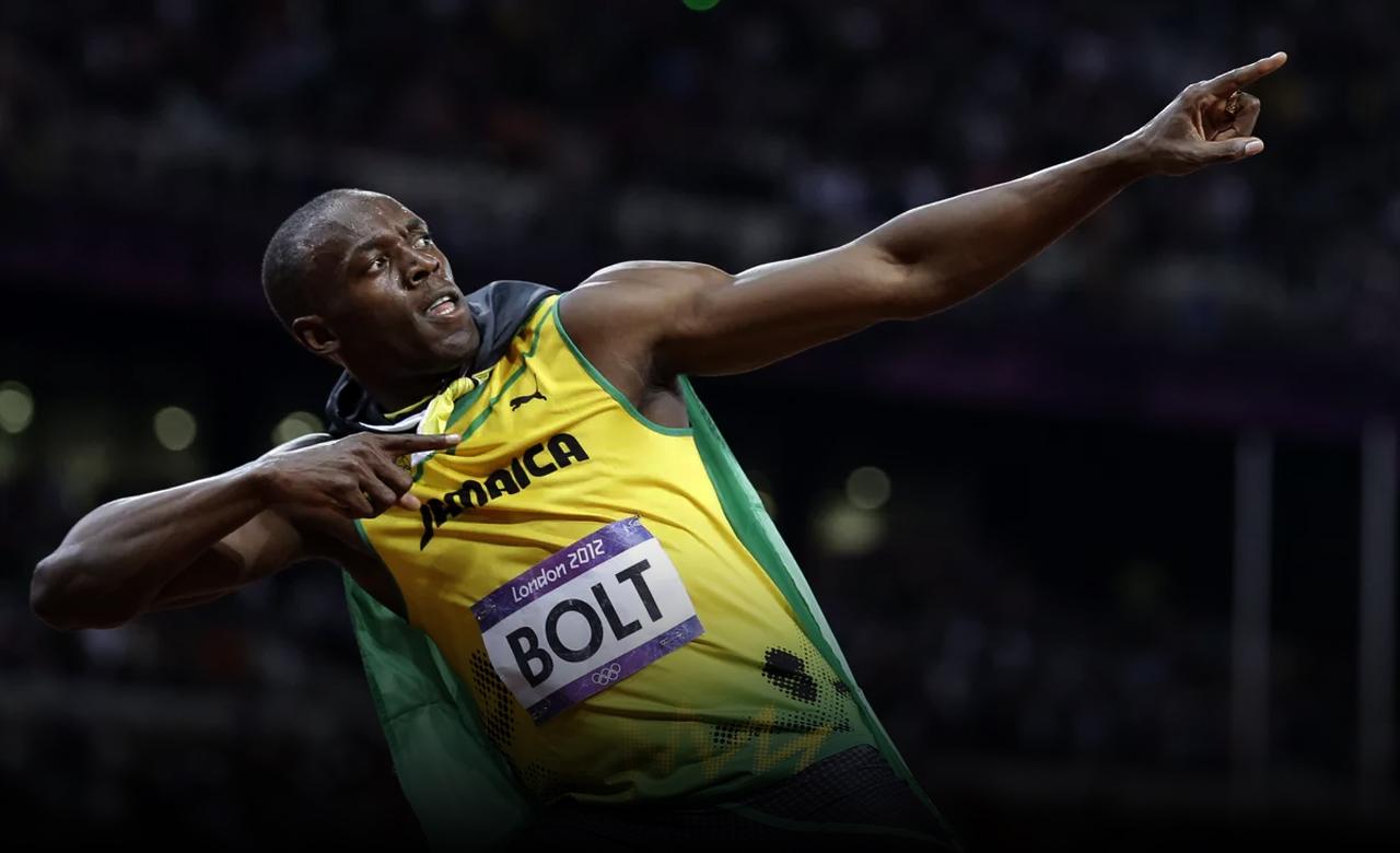 Usain Bolt London 2021