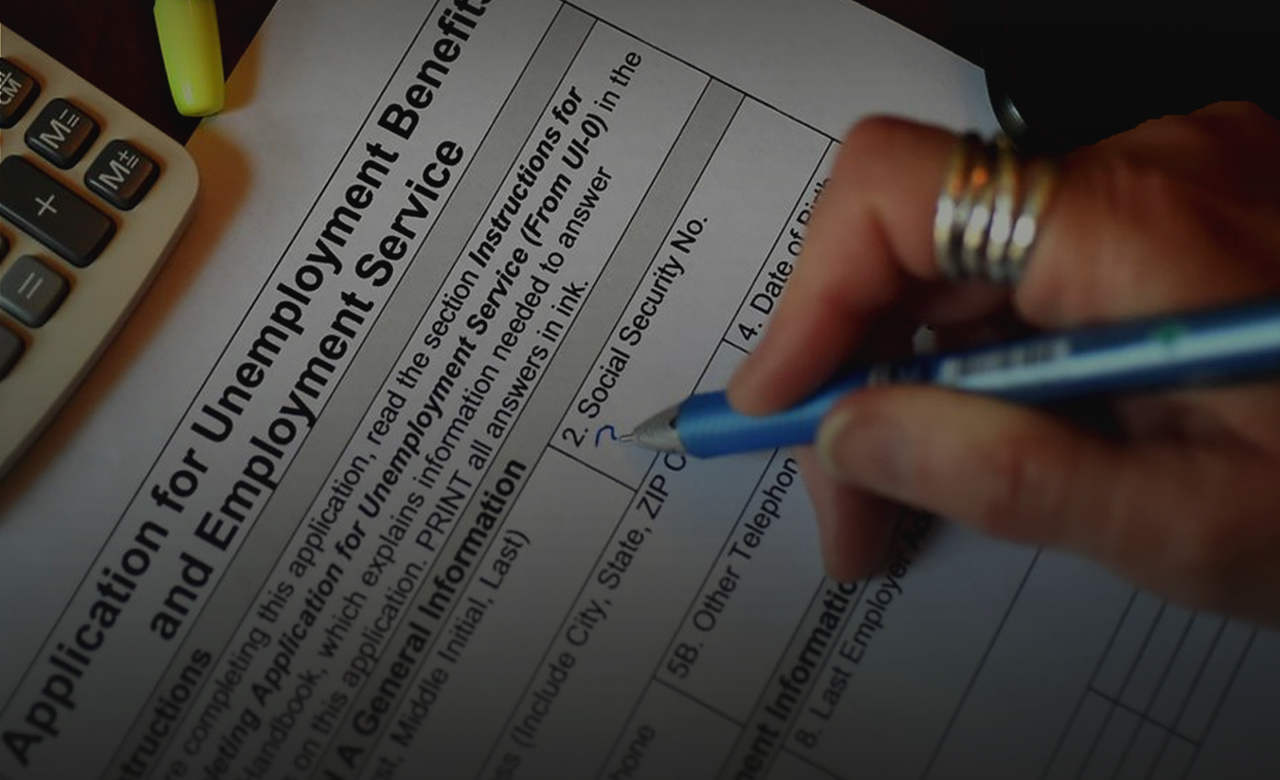 Another one million people submitted requests for unemployment