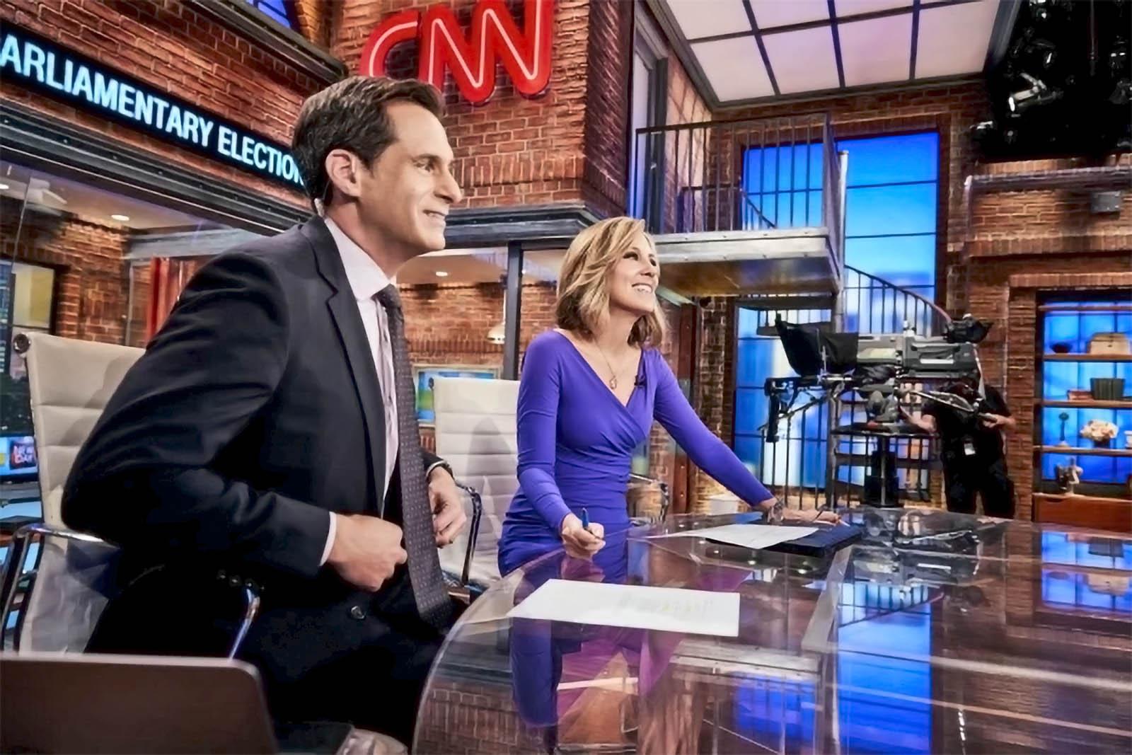 CNN New Day set