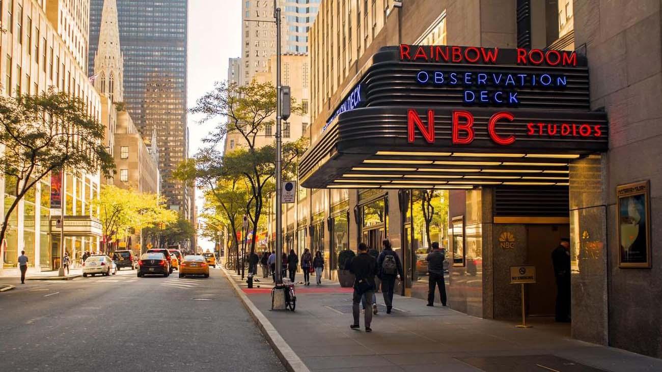 MSNBC News Studio Building