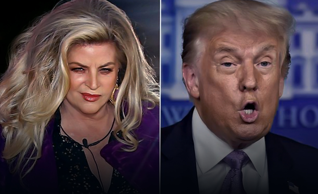 Kirstie Alley answered to 'horrible' people who slammed her support for Trump
