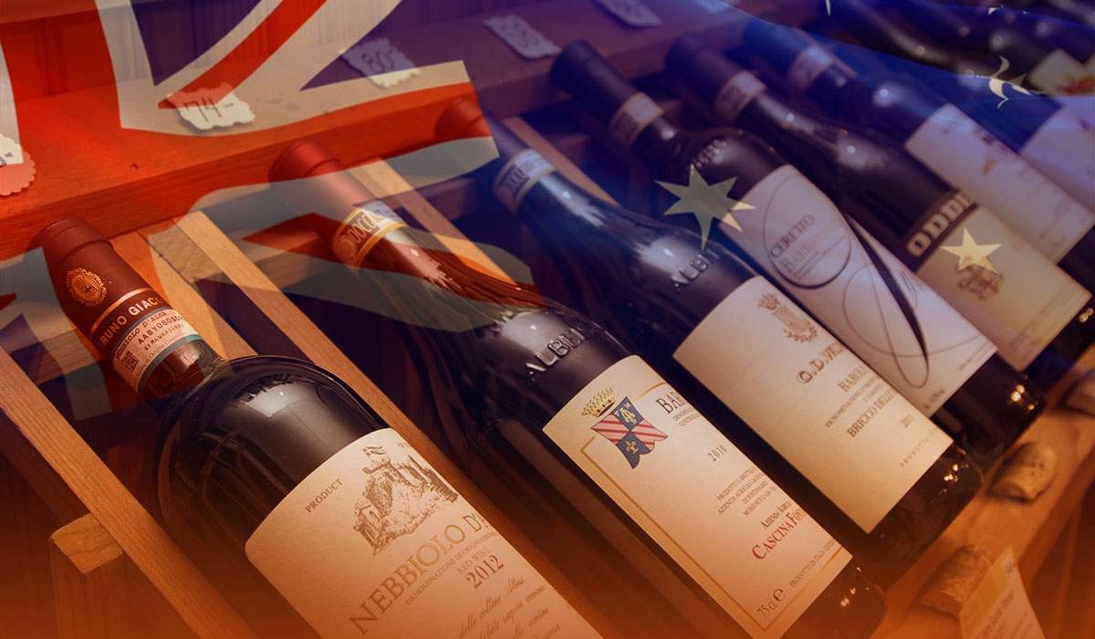 China imposed heavy customs on Australina imported wine