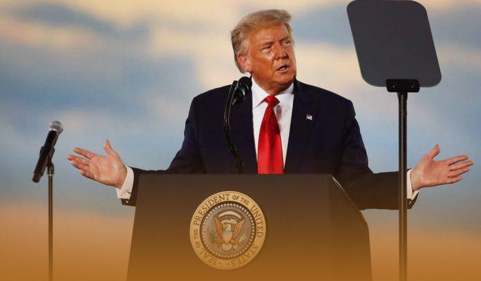 Trump endorsed a vote-counting scenario to decline military cast votes