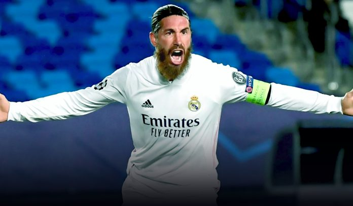 Sergio Ramos achieved the milestone of 100 goals for Real Madrid