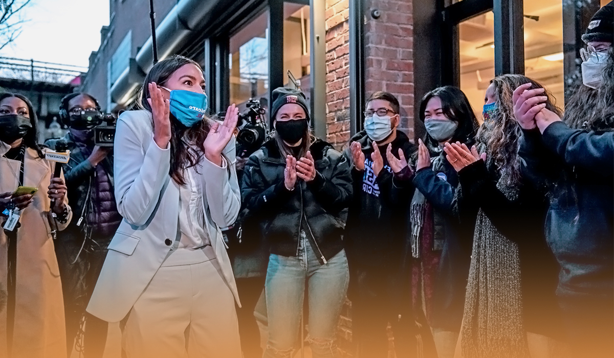 Alexandria Ocasio Cortez accusing Republicans not wearing face masks for closures
