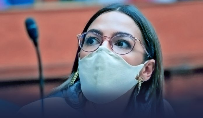 AOC alleging Republicans not wearing face masks for closures