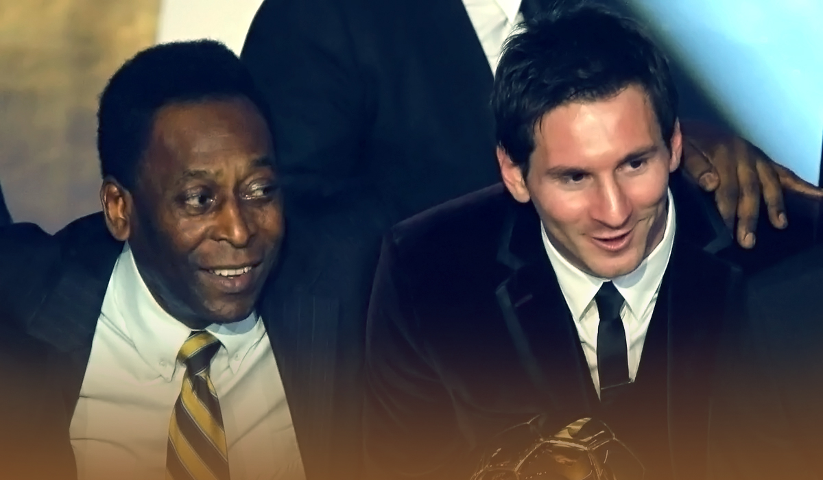 Lionel Messi surpassed Pelé's record for scoring most goals at a single club