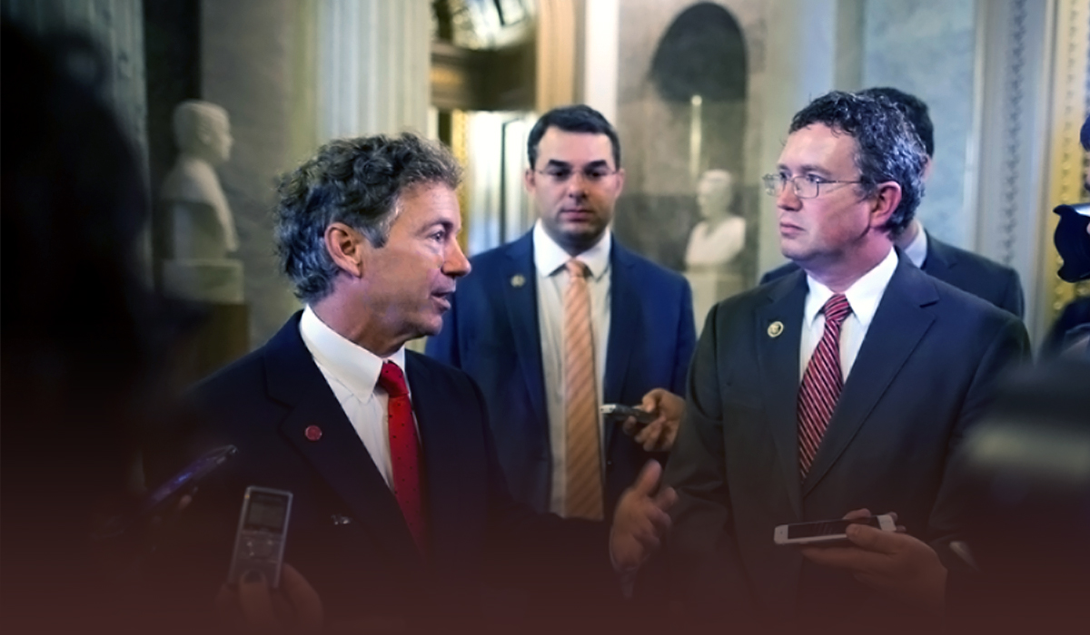 The viral speech of Rand Paul on Senate floor against COVID relief bill